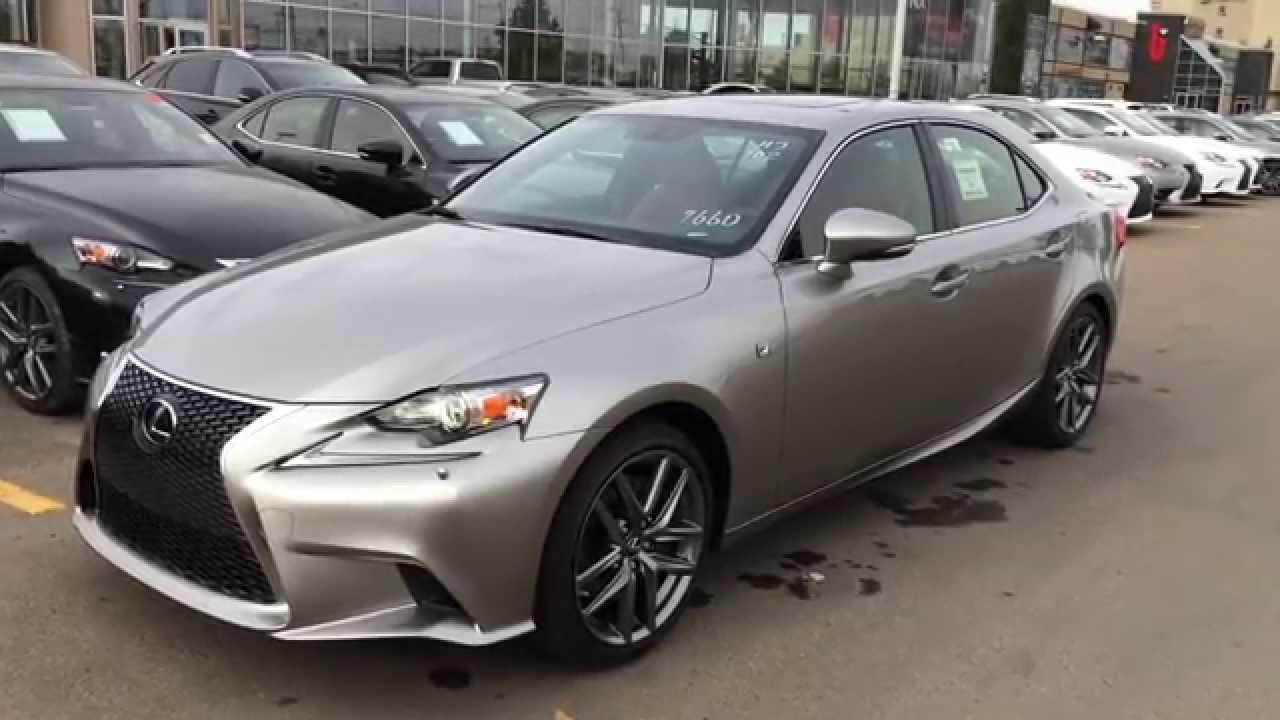 New Atomic Silver On Rioja Red 2015 Lexus IS 350 F Sport