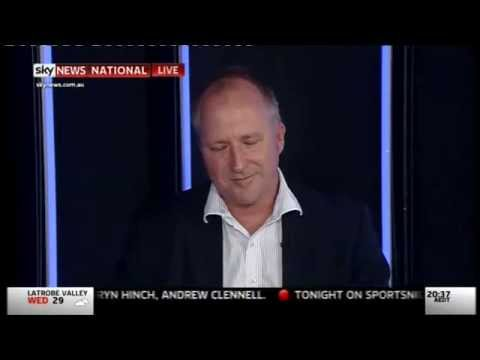 Patrick Moore on Sky News Australia -  21 Oct 2014