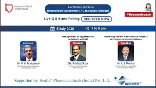 Hypertension Management  A Case Based Approach  5 July  7 PM edited