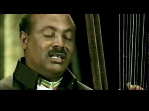 Alemu Aga playing on the David Harp, the BEGENA from Ethiopia- Tew Simagn Hagere Traditional