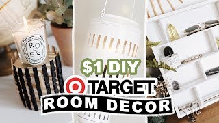 $1 DIY TARGET HACKS & ROOM DECOR + 200K GIVEAWAY!!! // LONE FOX