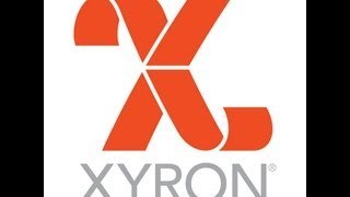 Xyron and Stencil Girl Embossed Tags