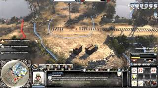COMPANY OF HEROES 2 - online battle #7 - hd