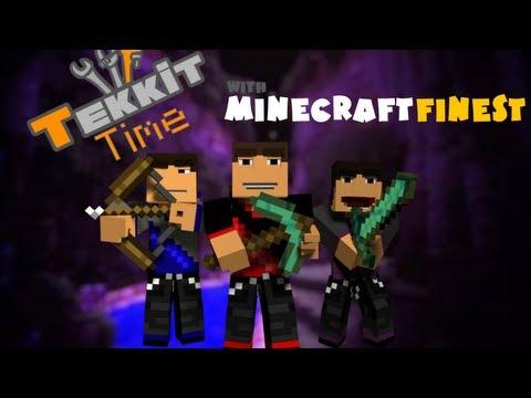 Minecraft: Tekkit Time w/ MinecraftFinest Ep. 1 - What's Tekkit?