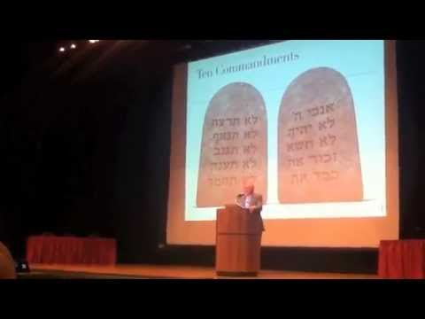 Richard Dawkins Destroys The 10 Commandments