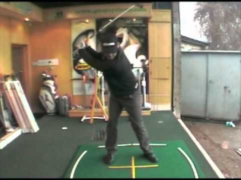 Golf Drill Shoulder Turn Backswing