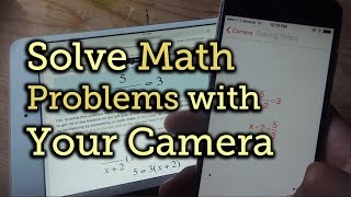Solve Math Problem With Phone's Camera