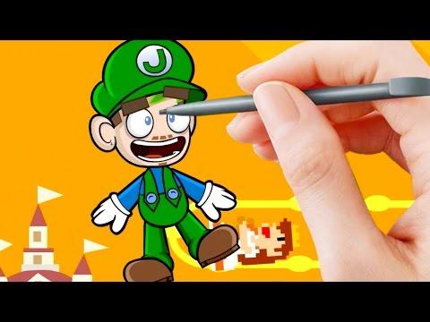 Jacksepticeye Animated | Super Mario Maker