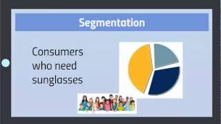 Principles of Marketing - Segmentation, Targeting and Positioning