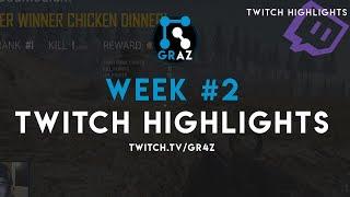 PUBG Twitch Stream Highlights - Week #2