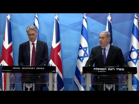 Statements by PM Netanyahu and UK Foreign Secretary Hammond