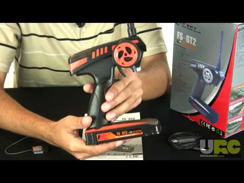 The Fly-Sky FS-GT2 2.4GHZ RC Radio Review from Ultimatercnetwork