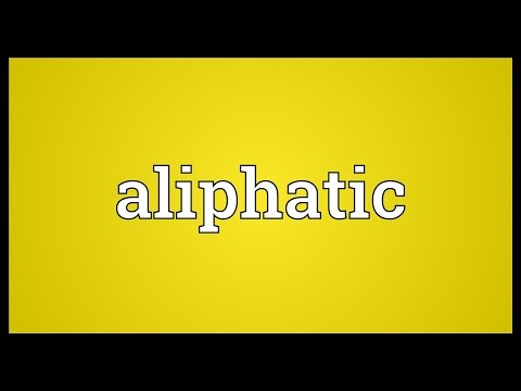 Header of aliphatic