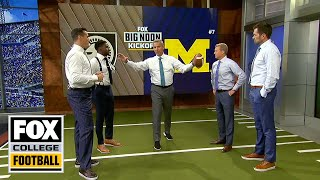 Urban Meyer breaks down Army's triple option and how Michigan will defend it | FOX COLLEGE FOOTBALL