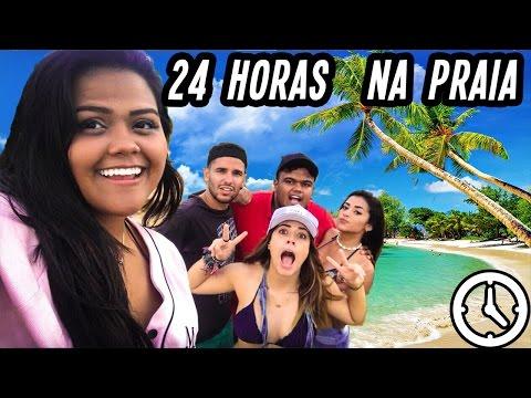 24 HORAS NA PRAIA!! (DESAFIO) thumbnail