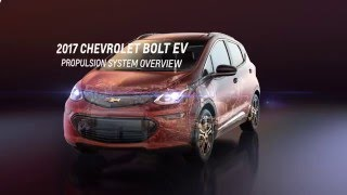 2017 Chevy Bolt Electric Car - Cutaway 3D views - Specs