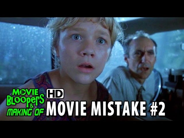 Jurassic Park (1993) movie mistake #2