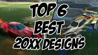 Top 6 BEST 20xx Colour Combinations/Designs - Rocket League