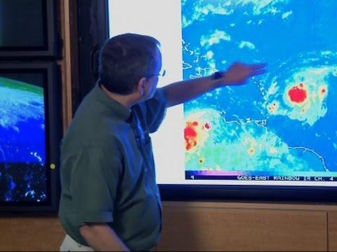 Tropical Storm Erika Threatens Islands
