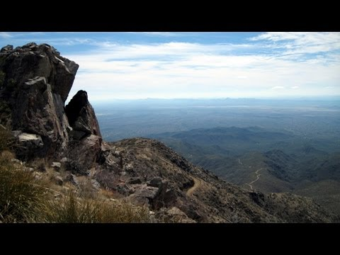 Harquahala Mountains, Arizona RV Camping Scenic Picture Tour