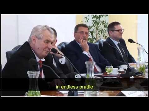 President Zeman of Czech Republic on islam & illegal migrants