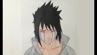 Speed Drawing!!! Uchiha Sasuke - Naruto Shippuden.