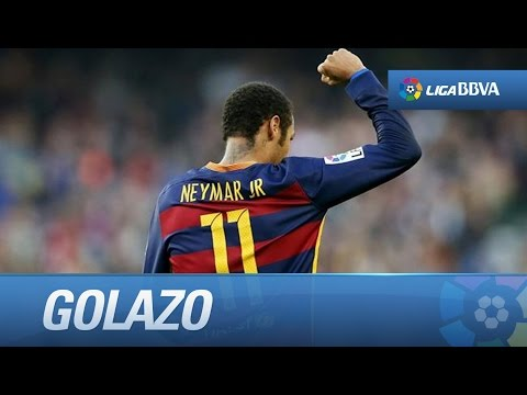 Golazo de Neymar (3-0) FC Barcelona - Villarreal CF