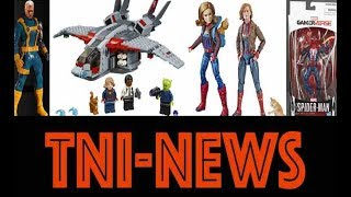 One:12 Collective X-Men Cable, Captain Marvel Movie Lego, Marvel Legends & Free Stuff