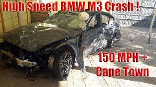 BMW M3 Crash Cape Town