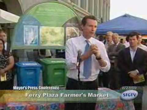 Mayor Newsom Signs Mandatory Recycling & Composting Ordinance