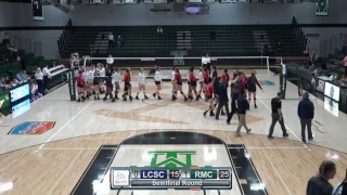 Frontier Conference Volleyball Tournament #3 Montana Tech vs. #2 University of Providence