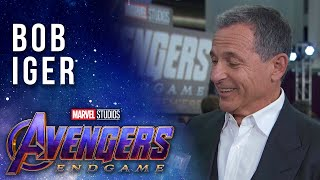 Bob Iger on the legacy of Marvel LIVE at the Avengers: Endgame Premiere