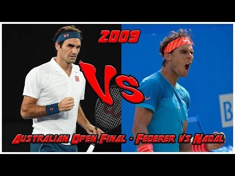 Australian Open 2009 ATP Final - Roger Federer vs Rafael Nadal