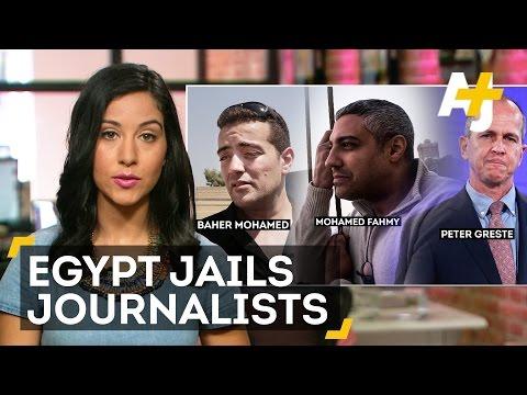 Egypt Cracks Down On Press Freedom: Al Jazeera Journalists Sentenced To Prison