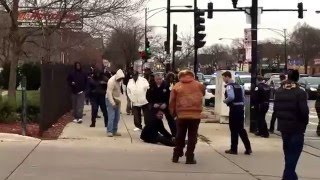 BACK TO BACK WEST-SIDE SHOOTINGS GUNSHOTS CAUGHT ON CAMERA(CAUTION GRAPHIC VIOLENCE)