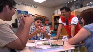 Award-winning Filipino teacher in NY makes math cool