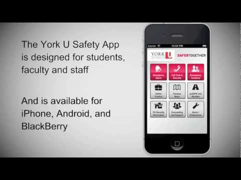 A screenshot of the Safety App.