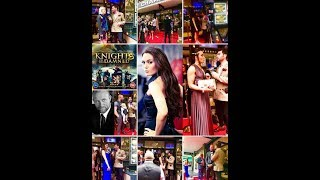 ART IN FUSION TV _ Leicester Sq London_  Movie Premier _ Knights of the Damned
