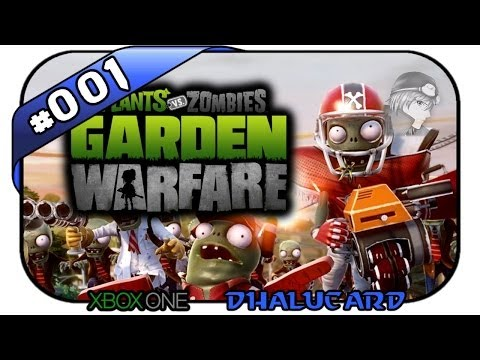 Plants vs Zombies Garden Warfare #001 - Verteidigung! - Let's PvZ Garden Warfare - Deutsch German
