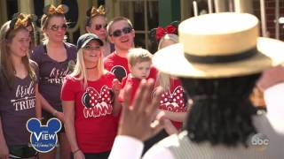 Whoopi Goldberg Surprises Guests In Disney World   The View