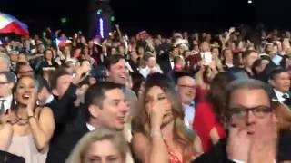 Miss Universe 2015 Audience Reaction Harvey Mistake