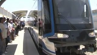 Addis Ababa's light rail system an example for neighbours