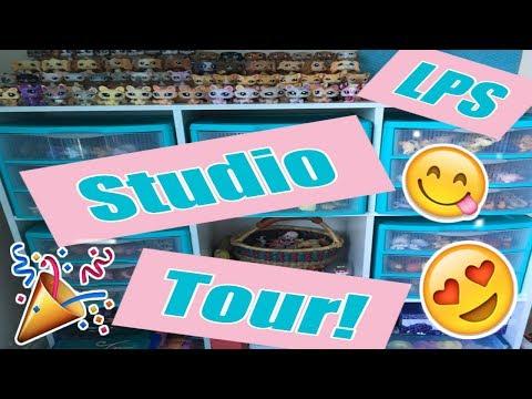 LPS ROOM / STUDIO TOUR 2017! | 1,500+ Subscribers Special!