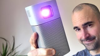 BenQ GV1 Portable Projector | Unboxing, Setup & Review