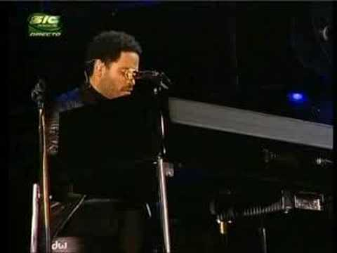 Lenny Kravitz - I'll Be Waiting [live @ RiR 08] - YouTube
