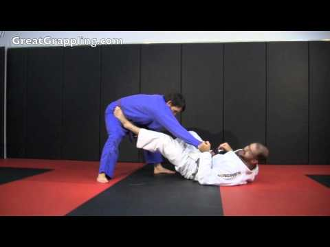 Open Guard Sweep Hook and Sickle