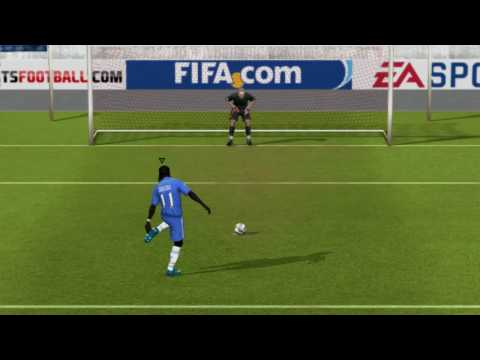 FIFA 10 Penalty Kicks [Chelsea vs Barcelona] (HD)