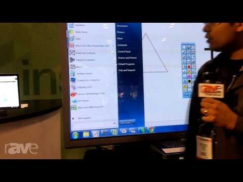 InfoComm 2013: Clary Highlights the Icon1 Interactive Whiteboard with Conferencing
