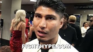 "MIKEY GARCIA REACTS TO PACQUIAO'S DOMINANT WIN OVER ADRIEN BRONER: ""MANNY SHOWED A LOT"""