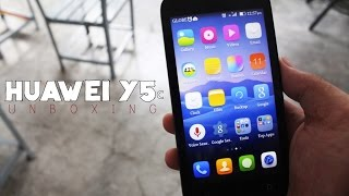 HUAWEI Y5c UNBOXING (nice and budget friendly phone?)